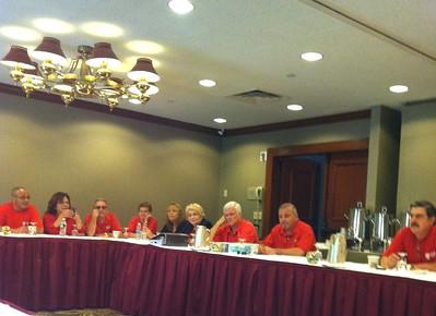 Regional Bargaining September 1st and 10th, 2011