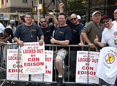 CON ED - picket line 4 Irving Place 07-05-2012