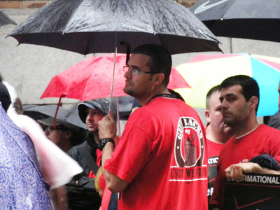 Rally at W.36th Street 6-12-2012